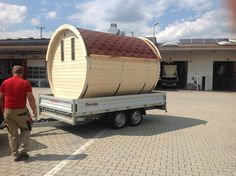 Diy Sauna, Indoor Outdoor, Barrel, Pictures, Barrel Roll, Barrels, Inside Outside