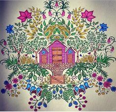 Secret Garden Casinha Jardim Secreto Johanna Basford