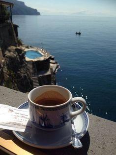 #coffee sea view