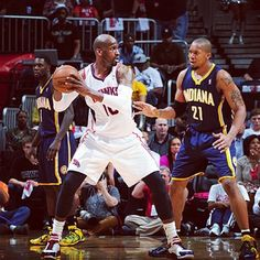 Game 6! The #ATLHawks look to even the series with the Pacers at Philips. Catch the action on SportSouth or Hawks Radio at 7 p.m. Tickets still available on Hawks.com
