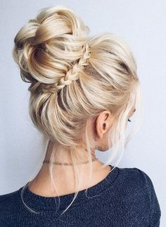 hair bun. pretty #hairstyle.