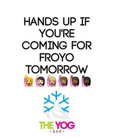 It's #midweekmadness too remember!  #FroYo #frozenyogurt #theyogbar #wednesday #froyofix #fatfree #visit #handsup by theyogbar
