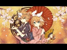 ♪ [Kagamine Rin & Len] Nghìn cánh hoa Anh Đào - Waraku Senbonzakura [Vie...