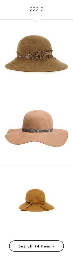 """фет ш"" by toxicretrogirl ❤ liked on Polyvore featuring accessories, hats, cappelli, headwear, eugenia kim, felt hat, wide brim hats, wide brim felt hat, eugenia kim hats and wide brim floppy hat"