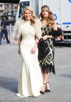 Chloe Sims transforms into a glamorous flapper girl as she joins TOWIE co-stars Kate Wright and Chloe Lewis at Great Gatsby themed party Great Gatsby Outfits, Great Gatsby Motto, Great Gatsby Theme, Gatsby Themed Party, Great Gatsby Fashion, Gatsby Wedding, Great Gatsby Party Dress, Great Gatsby Hair, 1920s Party Dresses