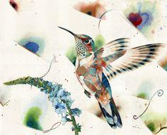 travisbruceblack:  chirp334 Dusterwatercolor on paper, 30x37″travis bruce black