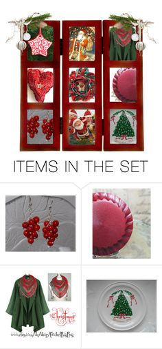 """""""Merry Christmas w/ #Integritytt Style"""" by rescuedofferings ❤ liked on Polyvore featuring art, integrityTT and EtsySpecialT"""