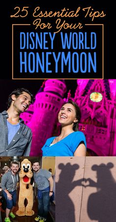 For honeymooners: 25 Essential Tips For Your Disney World Honeymoon. Only never, ever register for a honeymoon (poor etiquette), stay for at least days, and I recommend the Grand Floridian for honeymooners. (Our fav! Disney World Honeymoon, Honeymoon Tips, Disney Vacation Club, Disney World Vacation, Disney World Resorts, Disney Vacations, Disney Trips, Disney Parks, Walt Disney World