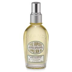 "L'Occitane's Almond Supple Skin Oil ""A delicious smelling body oil"" is a must for Nahema. Rich in omega 3 and formulated with more than 50% almond oil, her favorite from L'Occitane will leave you with enviable satiny-smooth skin http://www.rankandstyle.com/talking-top-10/20141020/nahema-mehta/5/"