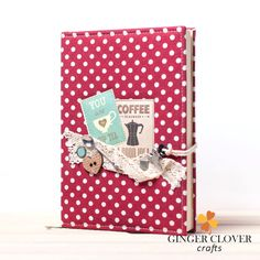 Made to order blank recipe journal, cooking journal, custom recipe book, personalised recipe book, cook book, cooking book by GingerCloverCrafts on Etsy
