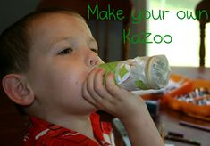 Make your own kazoo! Even your kids can do it!