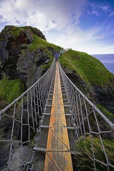 Notas de Prensa: Rope Bridge, Antrim, Ireland