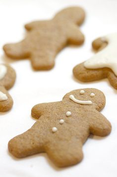 Gluten Free Gingerbread Men...I'm gunna need this in a few weeks