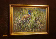pheasant painting print. animal portrait. Impressionist Art, Art Print, home decor. nature painting print. bird painting print. wildlife. - pinned by pin4etsy.com