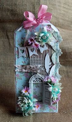 Archi's CraftCave! Atc Cards, Card Tags, Gift Tags, Shabby Chic Cards, Scrapbooking, Scrapbook Cards, Mixed Media Cards, Handmade Tags, Artist Trading Cards