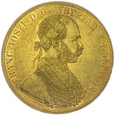4 Dukat 1914, Gold