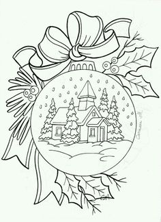 Christmas Ornament coloring page  free coloring pages from