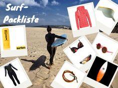Die Packliste für deinen nächsten Surfurlaub! #surfen #waves #packliste