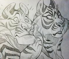 by vixiearts . Tiger Sketch / Drawings                                                                                                                                                                                 More