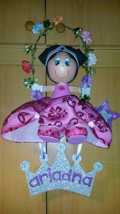 Fofucha princesa con columpio