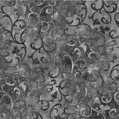Wilmington Prints Gray Black Scroll Fabric 89025 999 Blender Gray Fabric Blender Scroll by KimberlysFabricStash on Etsy