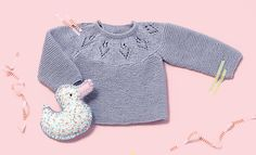 Book Baby 76 Spring / Summer | 13: Baby Sweater | Blue