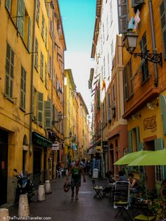 Nice Vieux (Old Town) - Things to Do in Nice - The Trusted Traveller
