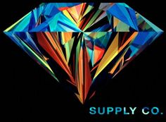 Diamond Supply Co. Diamond Wallpaper, Geometric Wallpaper, Colorful Wallpaper, Iphone Wallpaper, Diamond Clothing, Diamond Supply Co, Free Hd Wallpapers, Painting Inspiration, Contemporary Art