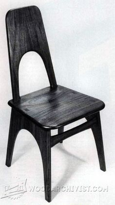 contemporary dining chair plans furniture plans and projects  3652 contemporary chair plans