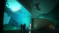 Batumi Aquarium by Henning Larsen Architects – Batumi Beach, Georgia
