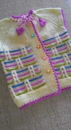 We have compiled 100 crochet baby vest pattern samples. See all of 40 crochet baby vest patterns. Browse lots of Free Crochet Patterns.s media cache originals ad 07 - PIPicStatsThis Pin was discovered by HUZBenzer Çalışmalar No related posts. Baby Knitting Patterns, Knitting Designs, Knitting Stitches, Baby Patterns, Free Knitting, Crochet Patterns, Diy Crafts Knitting, Diy Crafts Crochet, Knit Baby Sweaters