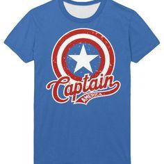 Marvel Captain America Avengers Tee Shirt Apparel | IdolStore