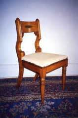 Side chair MICHEL BOUVIER (AMERICAN, 1792–1874) C. 1820