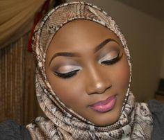 Nigerian wedding makeup tutorial by Mimi Suleiman
