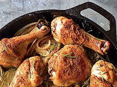 Jessica Seinfeld's Skillet-Roasted Potatoes and Chicken