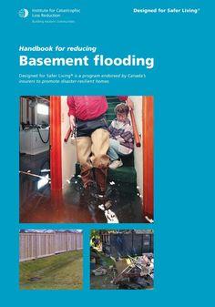 Handbook for reducing basement flooding