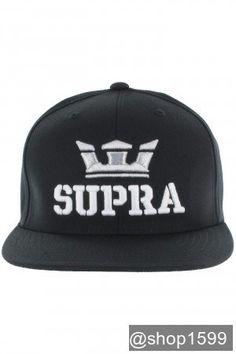 Supra Above Starter Snapback Gorra (black) f63fccbd1a34