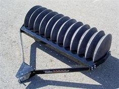 Economical... - Establishes a perfect seedbed every time - Light weight for easy moving and storage when empty - Heavier than comparable cast iron units when filled with water - Will never rust - Roto-Molded from Cross-Linked Polyethylene, most durable, heavy duty polymers on the market today - 18 inch roller stable over rough terrain - Profiled scraper prevents buildup during use in damp soil conditions - Weighs 88 pounds empty, 400 pounds when filled with water and 640 pounds with sand