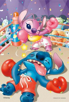 Diamond Painting Stitch and Angel Knock Out Punch Kit - Diamond Painting - Disney Lilo En Stitch, Lilo And Stitch Quotes, Deco Disney, Disney Art, Cute Disney Drawings, Cute Drawings, Stitch Et Angel, Toothless And Stitch, Stitch Drawing