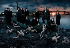 "HBO's ""The Sopranos"" editorial photo by Annie Leibovitz, for the Vanity Fair April 2007 issue. Re-teleased by HBO as a promotion"