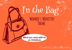 Purse - Bag Womens Ministry Theme Ideas: Creative Ladies Ministry nice, i like that pictire. Church Ministry, Youth Ministry, Ministry Ideas, Ladies Luncheon, Ladies Party, Womens Ministry Events, Relief Society Activities, Church Events, Christian Women