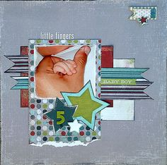 5 Little Fingers - Scrapbook.com