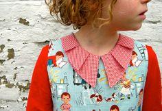 Love love LOVE this take in the peter pan collar!   Jurkje by Ik ben Vink, via Flickr