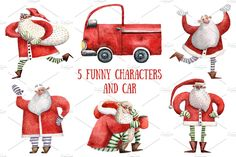 Happy Santa - Illustrations - 2