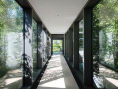 Modern Staircase/Hallway by KA Design Group and Leroy Street Studio in East Hampton, New York