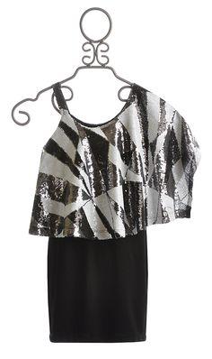 Elisa B One Shoulder Tween Party Dress $89.00 I LOVE BUT NOT FOR 89$ UH NO.