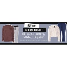 Buy One Get One 50% Off on Selected Items @ Factorie - Bargain Bro