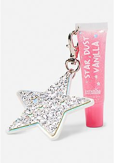 Star Charm Galaxy Lip Gloss