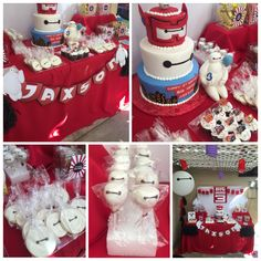 Big Hero 6 candy/dessert table by Bizzie Bee Creations by Iris #bighero6event #bighero6party #bighero6partyideas #parties #candybuffet #candystation #candybar #events #decorations #desserttable