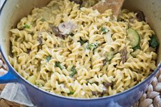 One-Pot Zucchini Mushroom Pasta Recipe